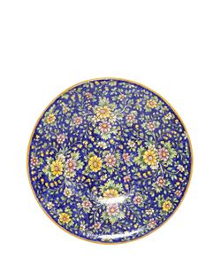 CERAMICHE PUGI | Floral Majolica Ceramic Plate