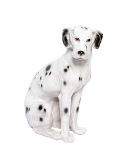 CERAMICHE PUGI | Dog Hand-Painted Ceramic Doorstop