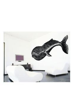 CHISPUM | Whale Medium Wall Sticker