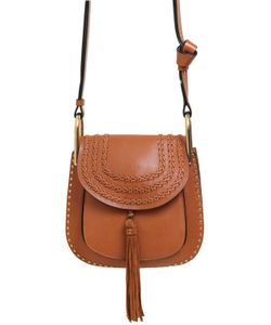 Chloe | Small Hudson Studs Braids Leather Bag