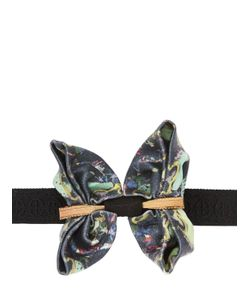 CHRISTIAN CORRENTI | Embellished Printed Silk Bow Tie
