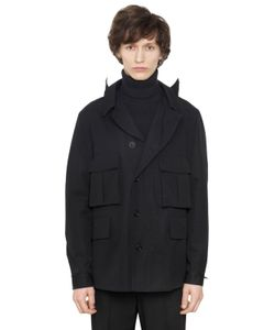 Christophe Lemaire | Water Repellent Cotton Bachette Parka