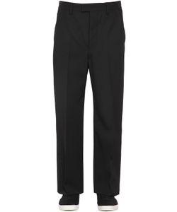 Christophe Lemaire | 24cm Wool Gabardine Pants