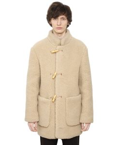 Christophe Lemaire | Wool Blend Shearling Effect Coat