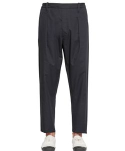 Christophe Lemaire | 17.5cm Cotton Linen Twill Pants