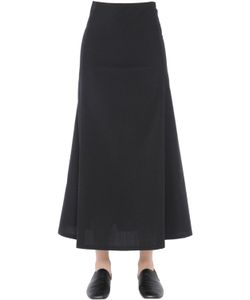 Christophe Lemaire | Washed Lightweight Virgin Wool Skirt