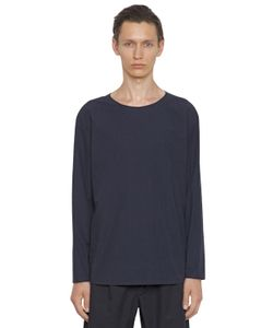 Christophe Lemaire | Soft Cotton Poplin Crewneck Shirt