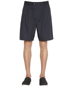 Christophe Lemaire | Soft Cotton Linen Twill Bermuda Shorts