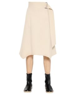 Christophe Lemaire | Virgin Wool Flannel Skirt