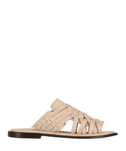 CHUBASCO | Hand Woven Nubuck Leather Sandals