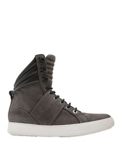 CIPHER | Nubuck Leather High Top Sneakers