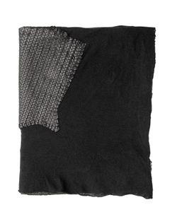 CLAUDIO CUTULI | Cashmere Silk Blend Leather Scarf