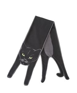 CLEO FERIN MERCURY | Cat Silk Twill Scarf