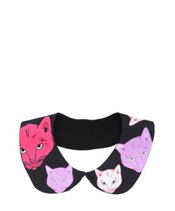 CLEO FERIN MERCURY | Cats Silk Twill Collar