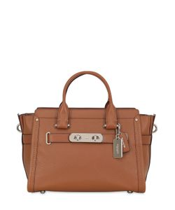 COACH NY | Large Swagger Leather Top Handle Bag