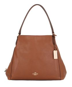 COACH NY | Edie Leather Shoulder Bag