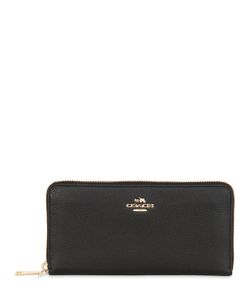 COACH NY | Accordion Leather Zip Wallet