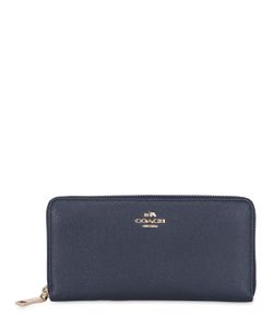 COACH NY | Accordion Zip-Around Leather Wallet