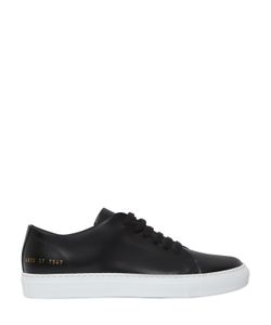 Common Projects | Court Brushed Leather Sneakers