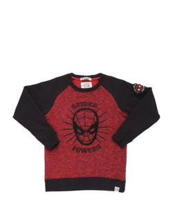 COURAGE&KIND | Spiderman Printed Cotton Sweatshirt