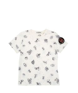 COURAGE&KIND | Printed Cotton Jersey T-Shirt
