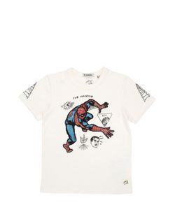 COURAGE&KIND | Spiderman Printed Cotton Jersey T-Shirt