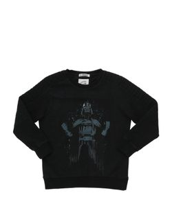 COURAGE&KIND | Darth Vader Printed Cotton Sweatshirt