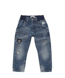 COURAGE&KIND   Destroyed Denim Jeans With Patches