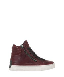 Crime | Leather High Top Sneakers