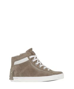 Crime | Suede Nappa Leather High Top Sneakers