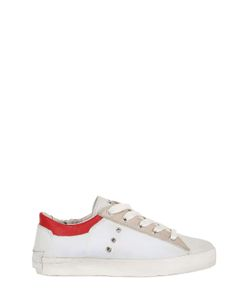 Crime | Contrasting Color Trim Sneakers