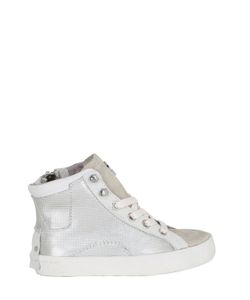 Crime | Leather Suede High Top Sneakers