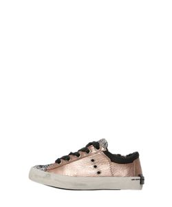 Crime | Laminated Leather Sneakers