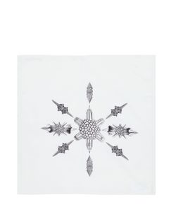 CTRLZAK | Unseen White Printed Napkin
