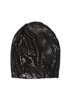 CUTULI CULT | Laser-Cut Laminated Leather Hat