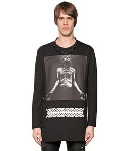 D. Gnak | Man Printed Light Cotton Sweatshirt
