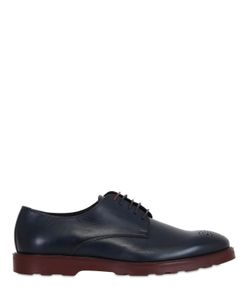 Dama | Waxed Leather Derby Shoes