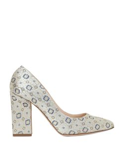 DAMICO MILANO | 100mm Acapulco Cotton Brocade Pumps