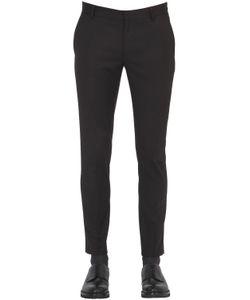 DANIELE ALESSANDRINI GREY | 16.5cm Polka Dot Printed Twill Pants