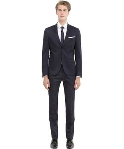 DANIELE ALESSANDRINI GREY | Stretch Micro Textured Evening Suit