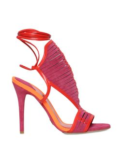 Daniele Michetti | 110mm Woven Suede Leather Sandals