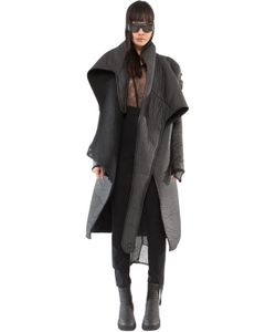 DEMOBAZA | Light Being Rubberized Effect Wrap Coat