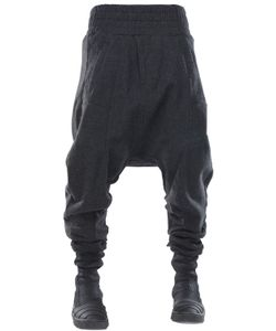 DEMOBAZA | Big Shepherd Wool Flannel Baggy Pants