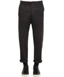 Denham | Drop Fit Heathered Flannel Pants