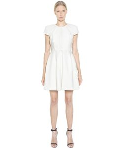 Dice Kayek | Pleated Bonded Cotton Dress