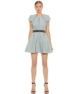 Dice Kayek   Structured Pleated Duchesse Dress