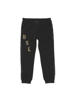 Diesel Kids | Sequined Cotton Jogging Pants