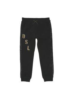Diesel Kids | Sequined Cotton Jogging Pants