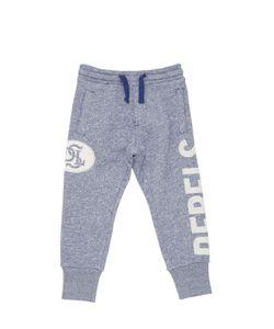 Diesel Kids | Rebels Printed Cotton Jogging Pants