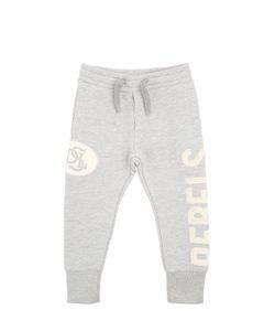 Diesel Kids   Rebels Printed Cotton Jogging Pants